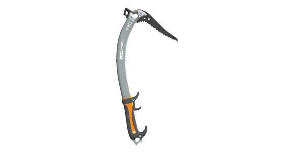 Petzl Quark Isøkser Hammer grå/orange